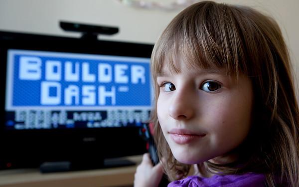 Timi Jarošová Atari 800 XE Boulder Dash