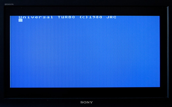 Turbo 2000 Atari 800 loader