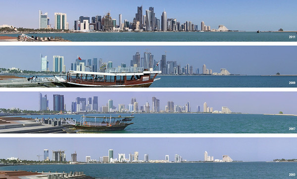 Doha skyline development