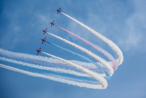 Red Arrows akrobati