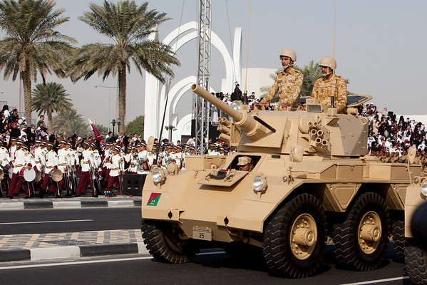 Qatar National Day army parade