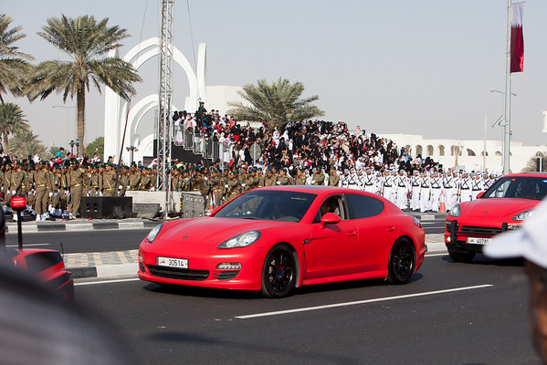 Qatar National Day Qatar police porsche