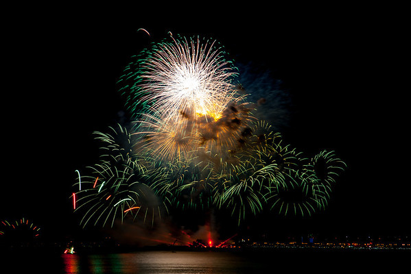 Qatar National Day fireworks