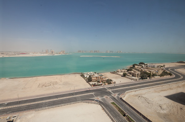 West Bay Doha Qatar view