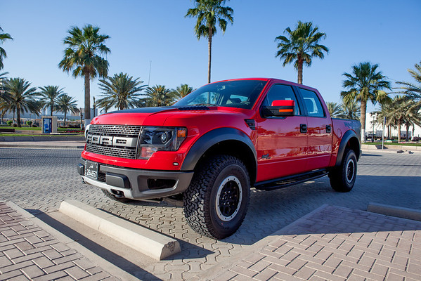Ford Raptor Red