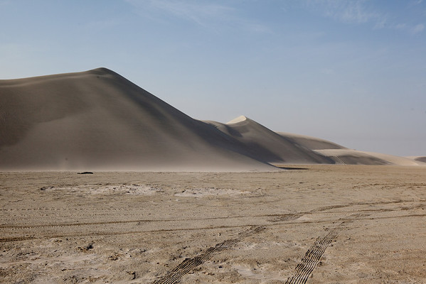 Inland Sea big dunes desert Qatar
