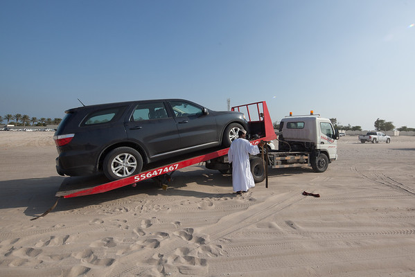 Car towing Qatar Sealine