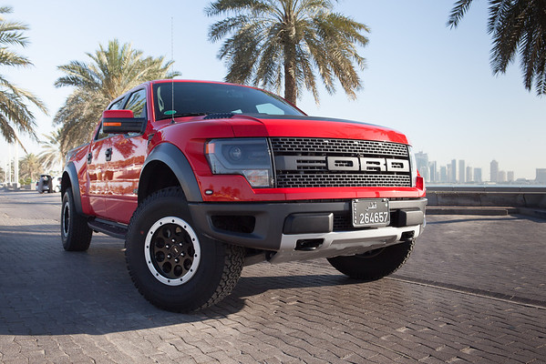 Ford Raptor Red Qatar