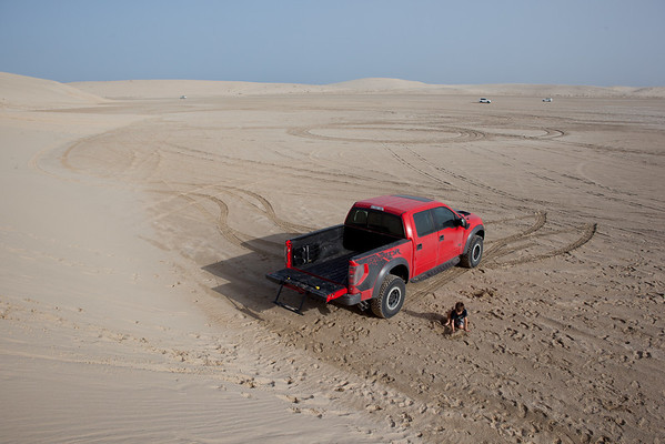 Ford Raptor Inland Sea route