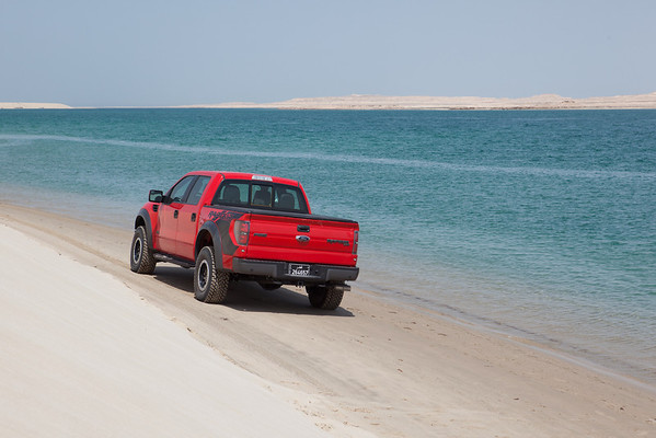 Ford Raptor Inland Sea Qatar dunes