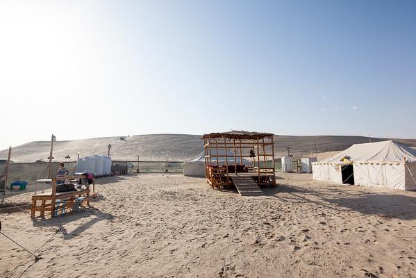 Qatar camp site Sealine