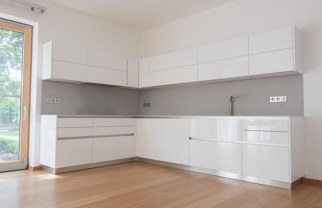 Betonová stěrka v kuchyni
