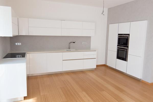 Kuchyně betonová stěrka Klánovice Monolit Design