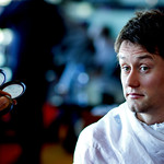 Tomas Rosicky getting his make up