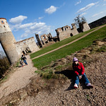 Zviretice ruins
