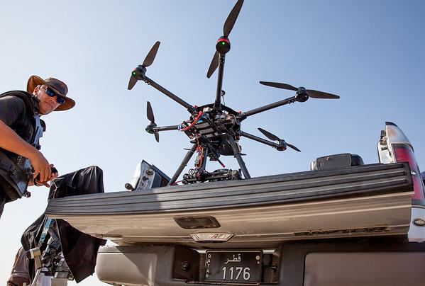 Drone filming start Qatar