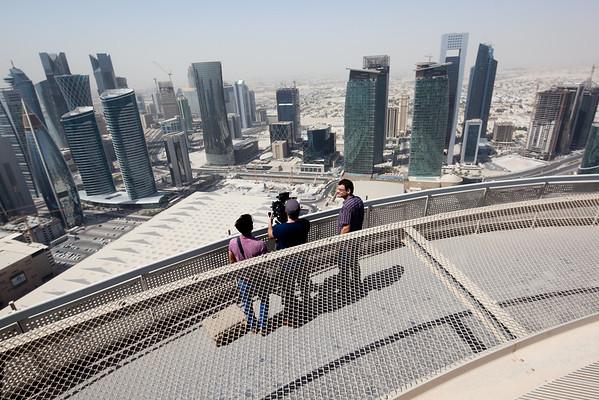 Martin Jaros Doha Qatar West Bay Helipad
