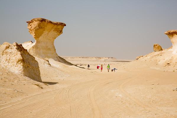 Zekreet Katar skály děti