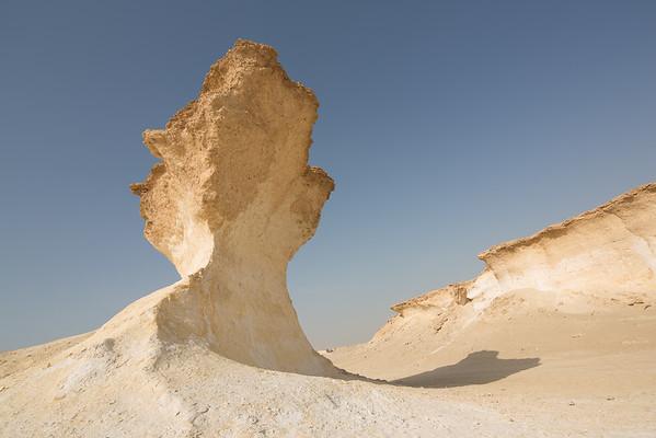 Katar Zekreet skály Qatar Zekreet rocks