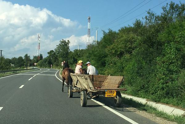 Kočovní cikáni Rumunsko