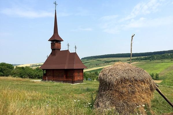 Rumunsko dřevěný kostel