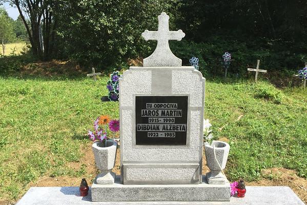 hrob Rumunsko slovenské vesnice