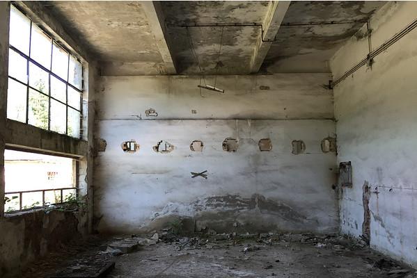 Sklárna v Rumunsku interiér