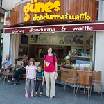 Ice cream shop in Bebek, Istanbul