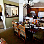 Breakfast in our suite. Too hot to eat on the terrace!